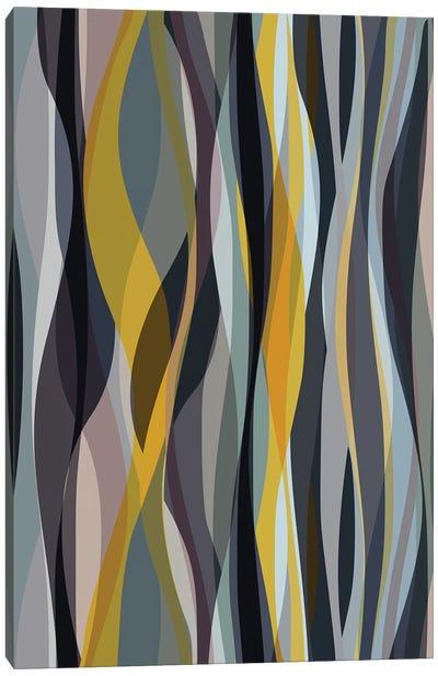 Interlaced Shapes Canvas Art Print