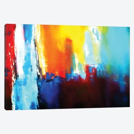 Lights In The City Canvas Print #AEZ177} by Angel Estevez Canvas Wall Art