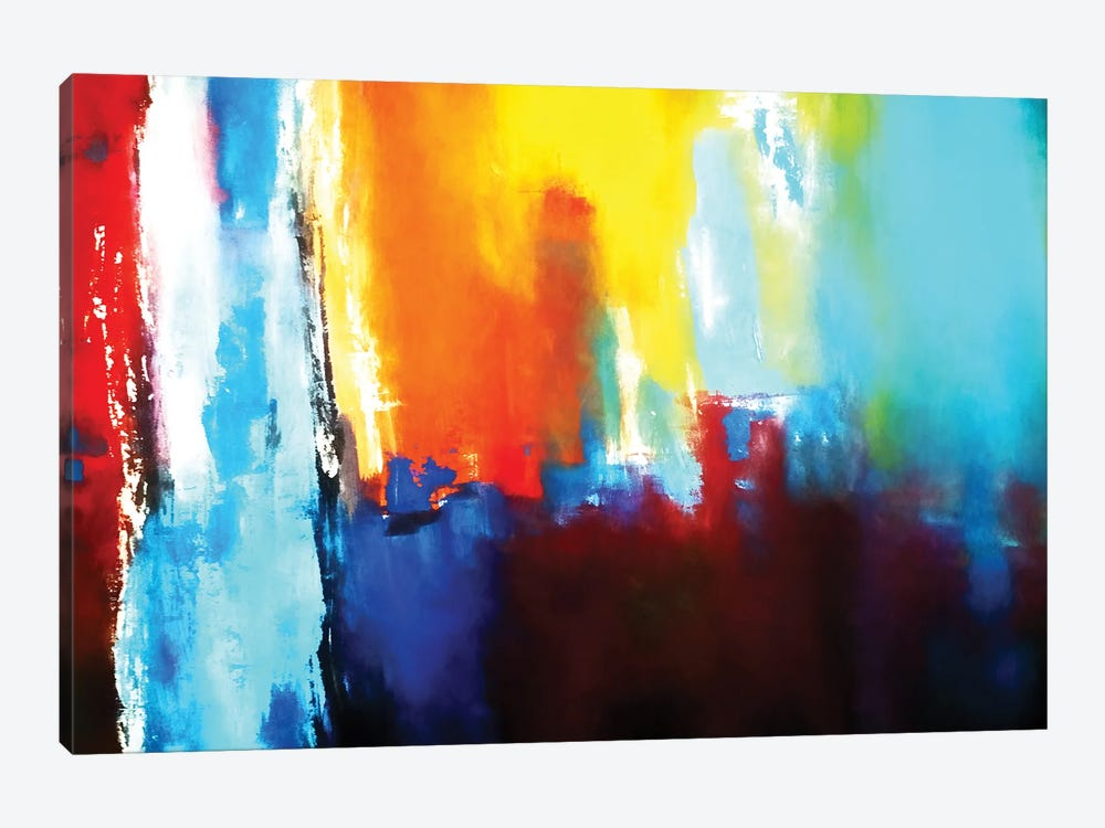 Lights In The City by Angel Estevez 1-piece Canvas Wall Art