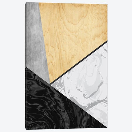 Marble And Wood Canvas Print #AEZ178} by Angel Estevez Canvas Art Print