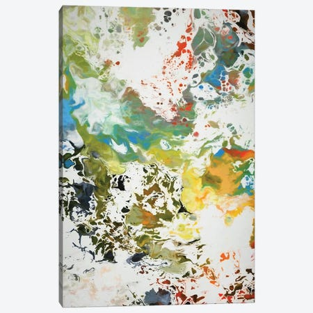 Paint Remnants Canvas Print #AEZ180} by Angel Estevez Canvas Artwork