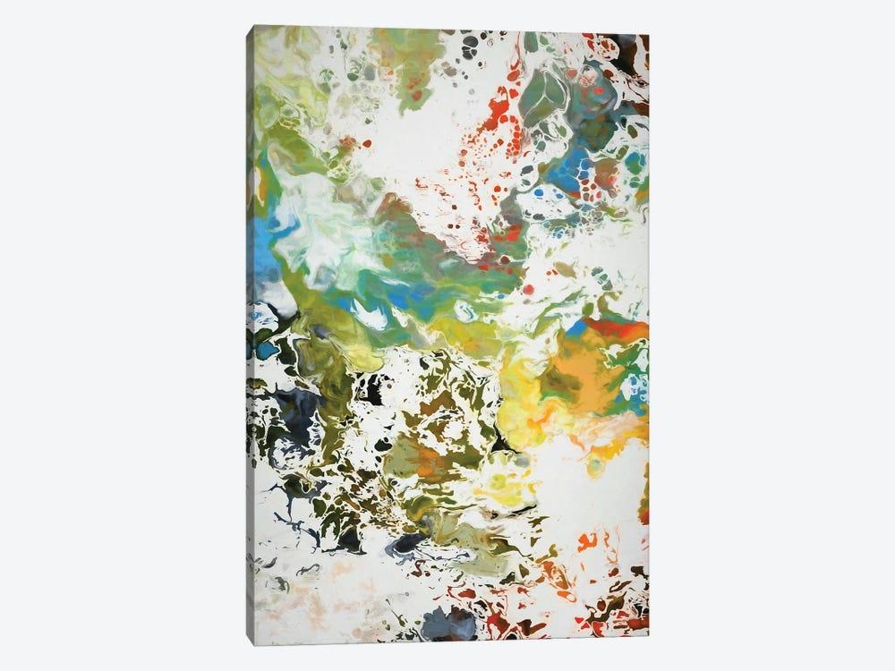 Paint Remnants by Angel Estevez 1-piece Canvas Wall Art