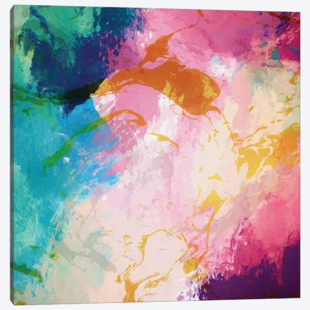 Paint Spill Canvas Print #AEZ181} by Angel Estevez Canvas Art