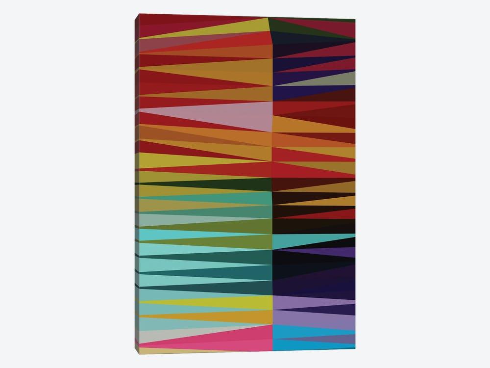 Pointed Shapes by Angel Estevez 1-piece Canvas Print
