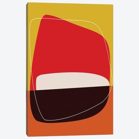 Red Sunset Canvas Print #AEZ187} by Angel Estevez Art Print