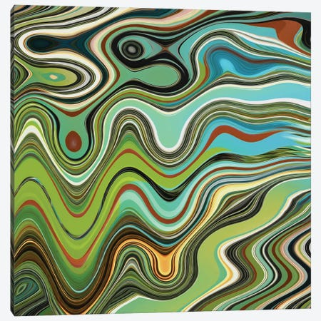 Ripples Canvas Print #AEZ189} by Angel Estevez Canvas Artwork