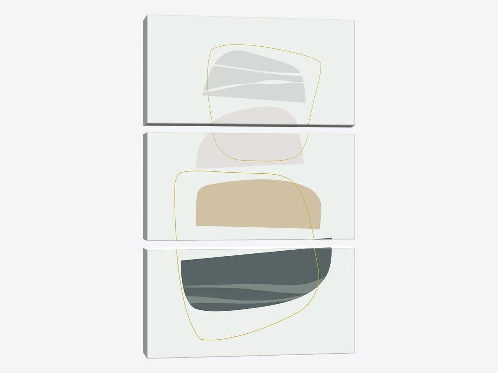 Softness by Angel Estevez 3-piece Canvas Art Print