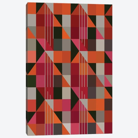 Triangles And Rectangles Canvas Print #AEZ196} by Angel Estevez Canvas Wall Art