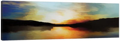 Vibrant Sunset Canvas Art Print