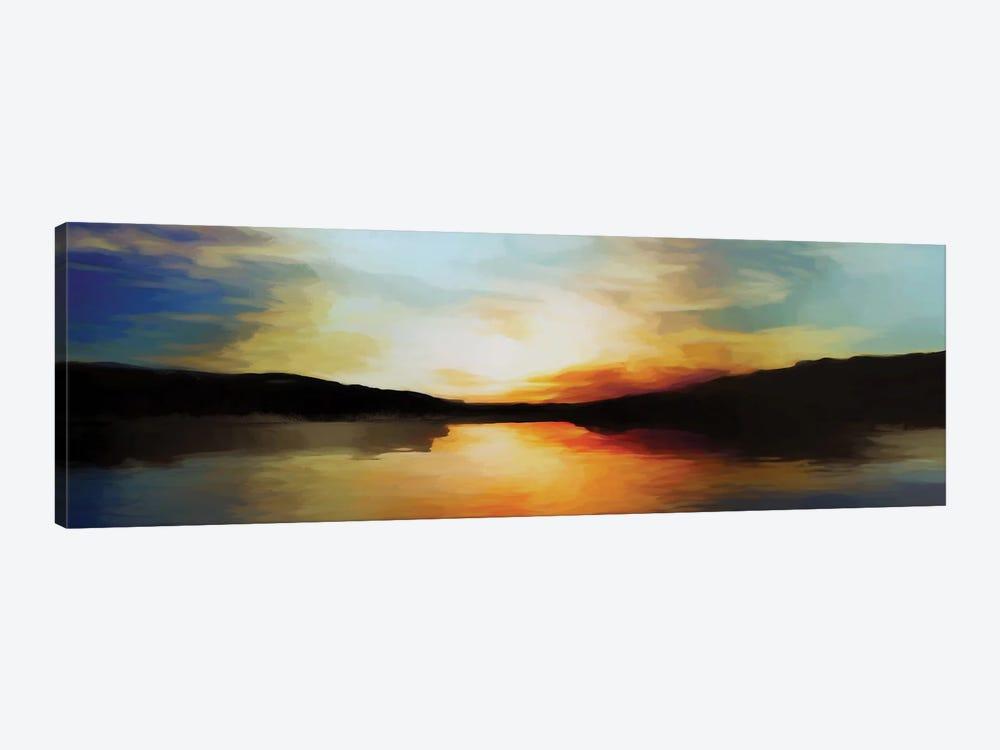 Vibrant Sunset by Angel Estevez 1-piece Canvas Art