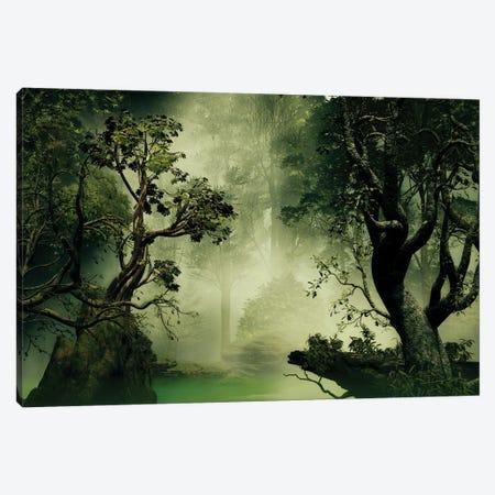 Exuberant Jungle Canvas Print #AEZ19} by Angel Estevez Canvas Art