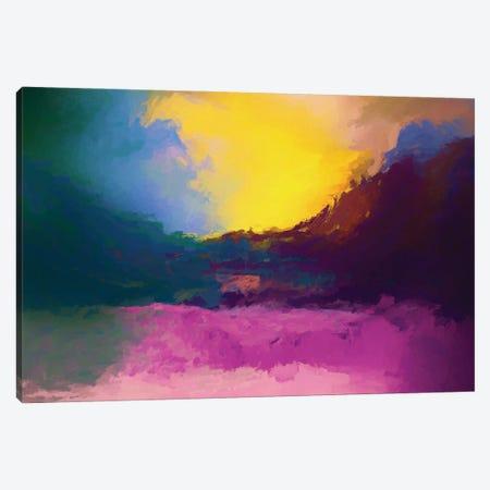 Vibrant Sunset II Canvas Print #AEZ200} by Angel Estevez Canvas Print