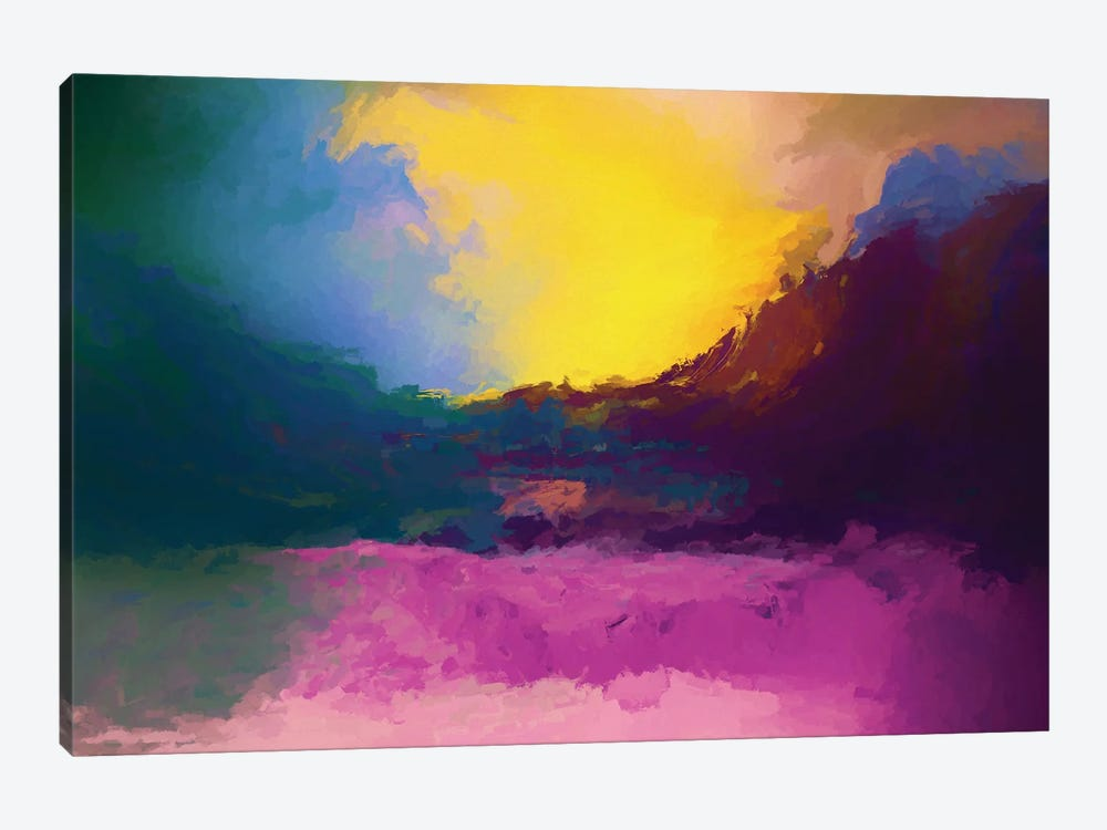 Vibrant Sunset II by Angel Estevez 1-piece Canvas Wall Art