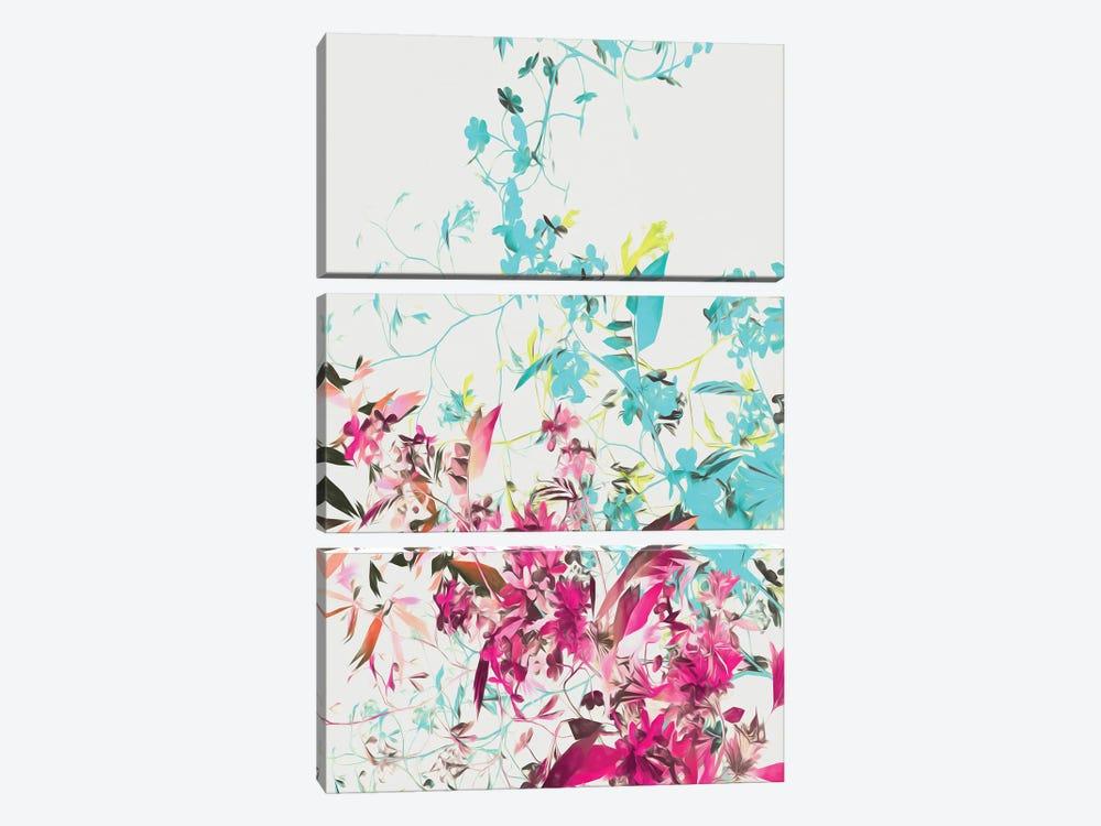 Spring Colors by Angel Estevez 3-piece Canvas Artwork