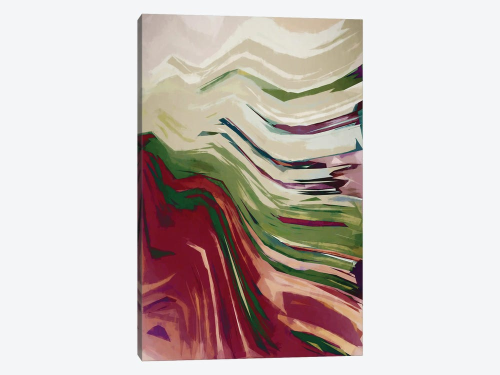 Colorful Mountains III by Angel Estevez 1-piece Canvas Artwork