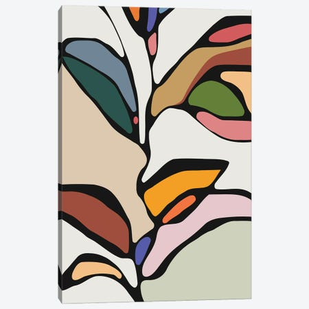 Colorful Tree Canvas Print #AEZ209} by Angel Estevez Canvas Art Print