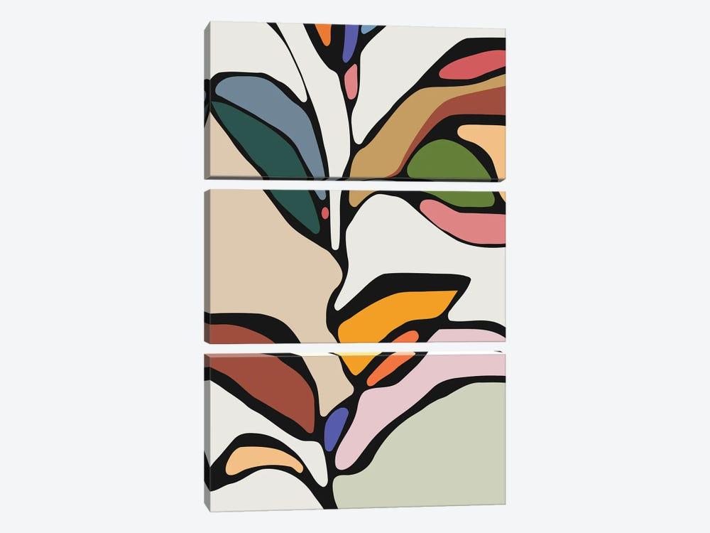 Colorful Tree by Angel Estevez 3-piece Canvas Print