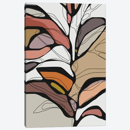 Colorful Tree II Canvas Print #AEZ210} by Angel Estevez Canvas Art