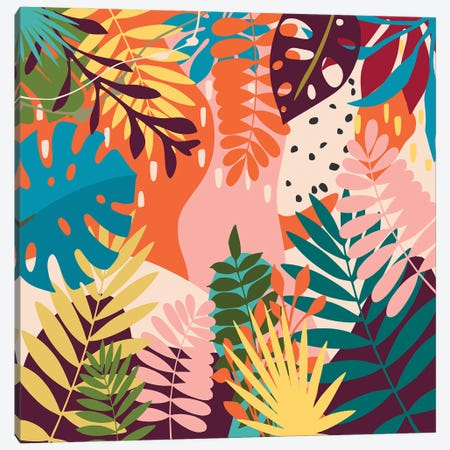 Tropical Garden Canvas Print #AEZ215} by Angel Estevez Canvas Print