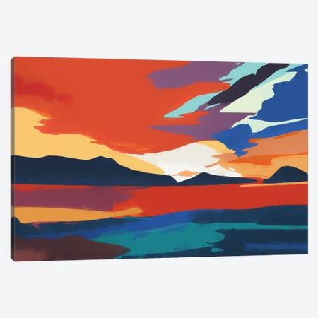 Vibrant Sunset III Canvas Print #AEZ217} by Angel Estevez Canvas Print