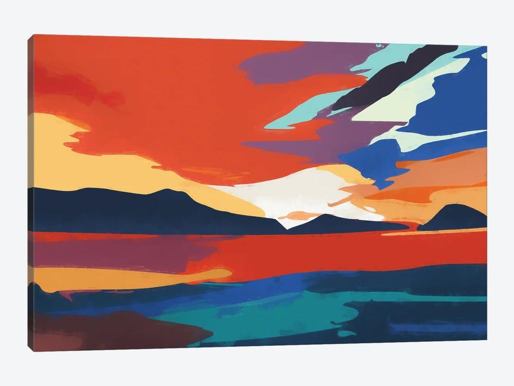 Vibrant Sunset III by Angel Estevez 1-piece Canvas Artwork