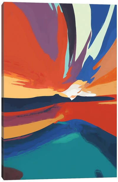 Vibrant Sunset IV Canvas Art Print