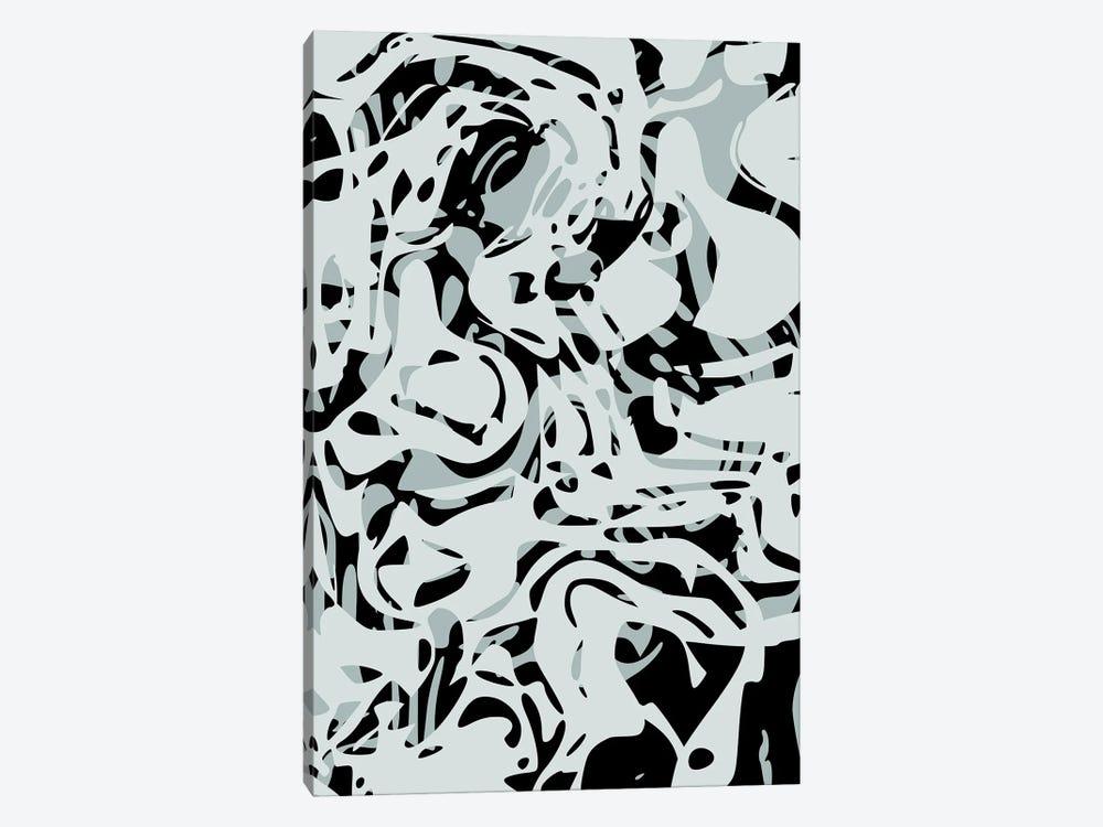 Hollow Shapes II by Angel Estevez 1-piece Canvas Artwork