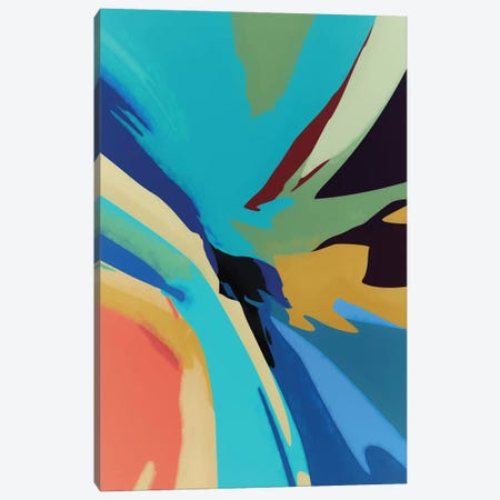 Meeting of Colors Canvas Print #AEZ223} by Angel Estevez Canvas Print