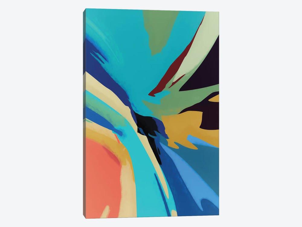 Meeting of Colors by Angel Estevez 1-piece Canvas Print