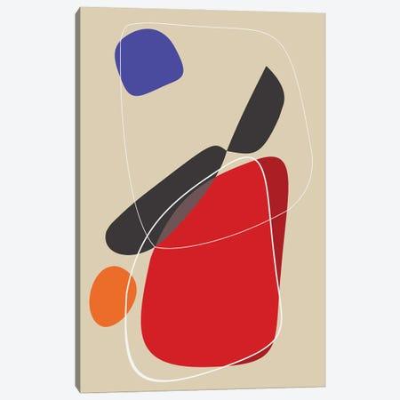 The Impact of Red Canvas Print #AEZ225} by Angel Estevez Canvas Wall Art