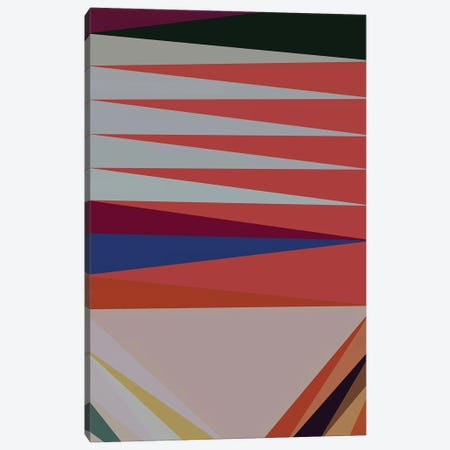 Pointed Shapes III Canvas Print #AEZ228} by Angel Estevez Art Print