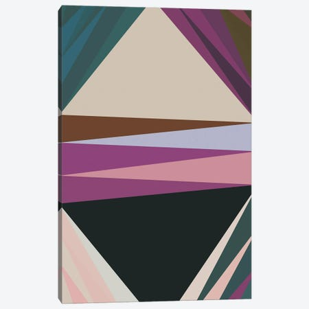 Pointed Shapes IV Canvas Print #AEZ229} by Angel Estevez Art Print