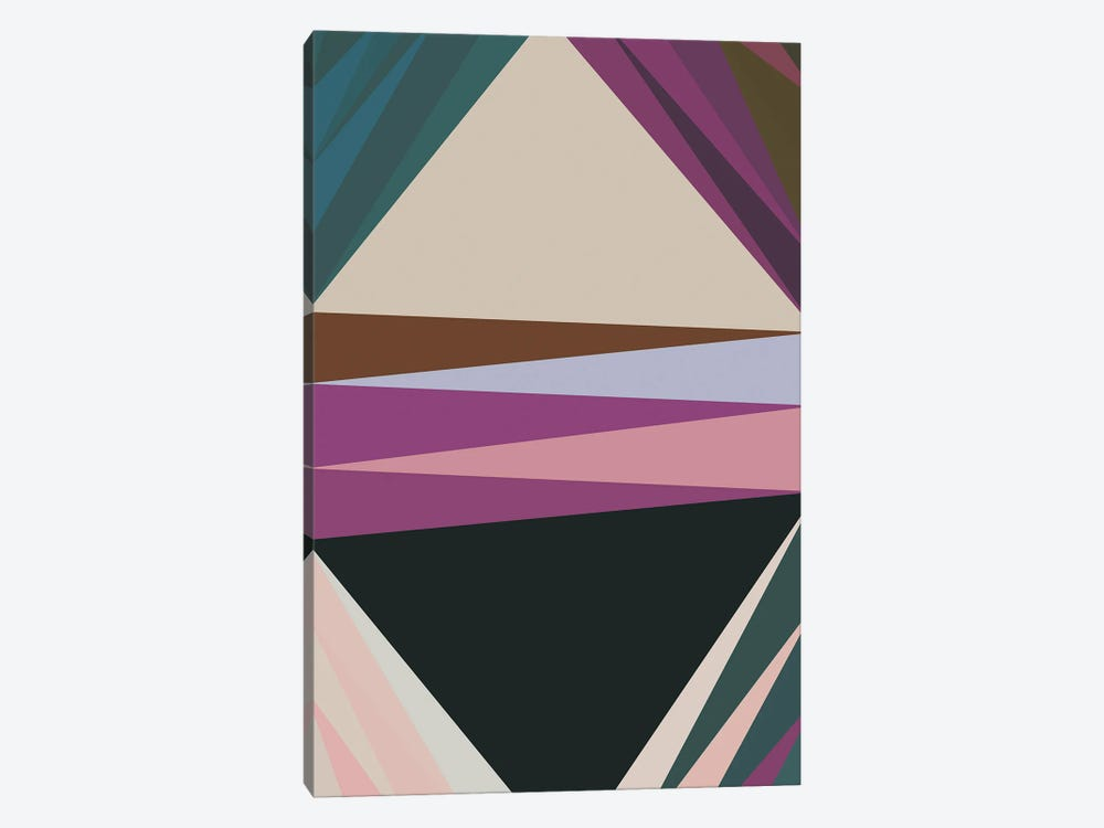Pointed Shapes IV by Angel Estevez 1-piece Canvas Print