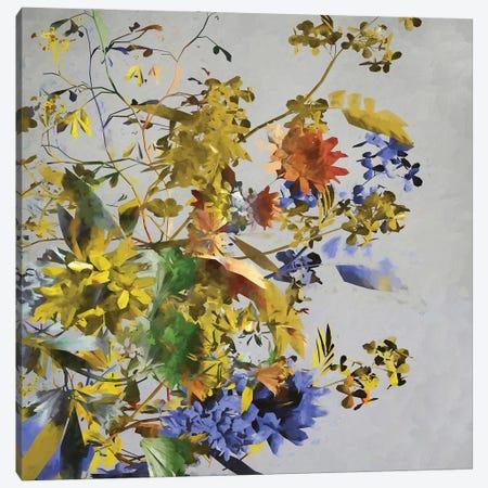 Flowers With Golden Predominance Canvas Print #AEZ234} by Angel Estevez Canvas Print