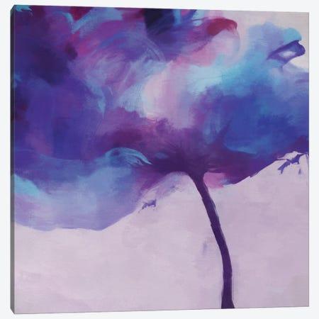 Purple Tulip Canvas Print #AEZ235} by Angel Estevez Canvas Print