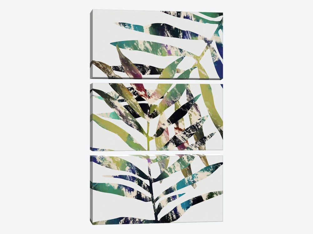 Tropical Foliage V by Angel Estevez 3-piece Canvas Artwork