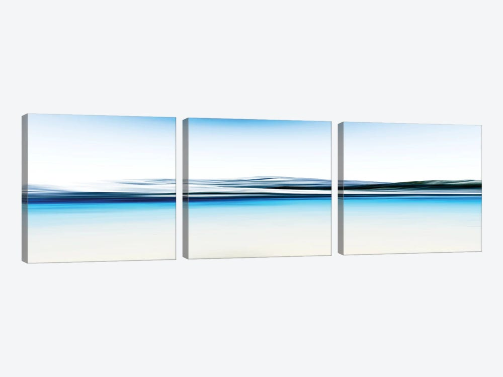 Beautiful And Serene by Angel Estevez 3-piece Canvas Print