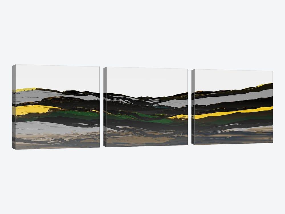 Beautiful Mountains III by Angel Estevez 3-piece Canvas Art