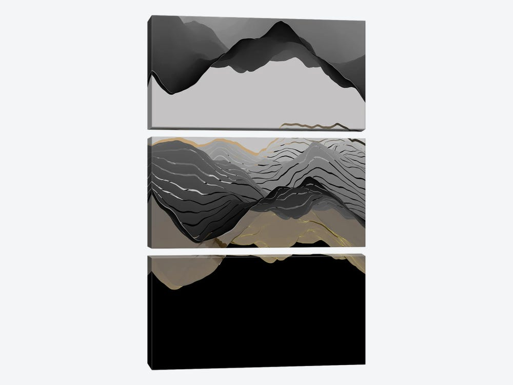 Beautiful Mountains VIII by Angel Estevez 3-piece Canvas Artwork