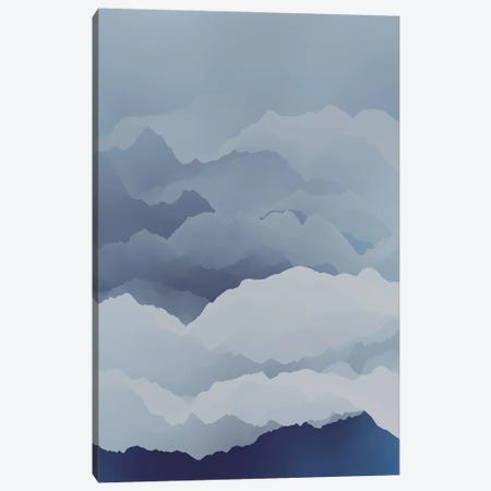 Beautiful Mountains X Canvas Print #AEZ248} by Angel Estevez Canvas Art Print