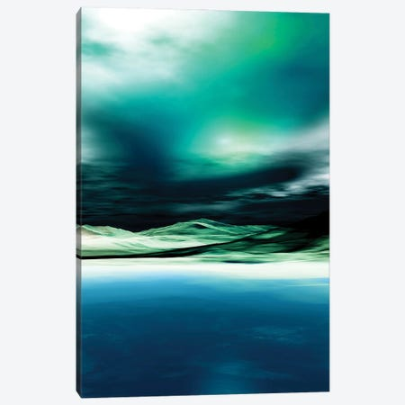 Green Twilight Canvas Print #AEZ249} by Angel Estevez Canvas Print