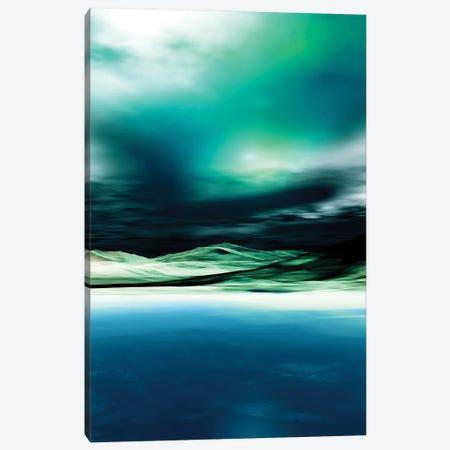 Green Twilight Canvas Print #AEZ249} by Angel Estevez Canvas Print