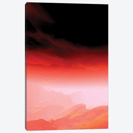 Red Sky III Canvas Print #AEZ252} by Angel Estevez Canvas Artwork