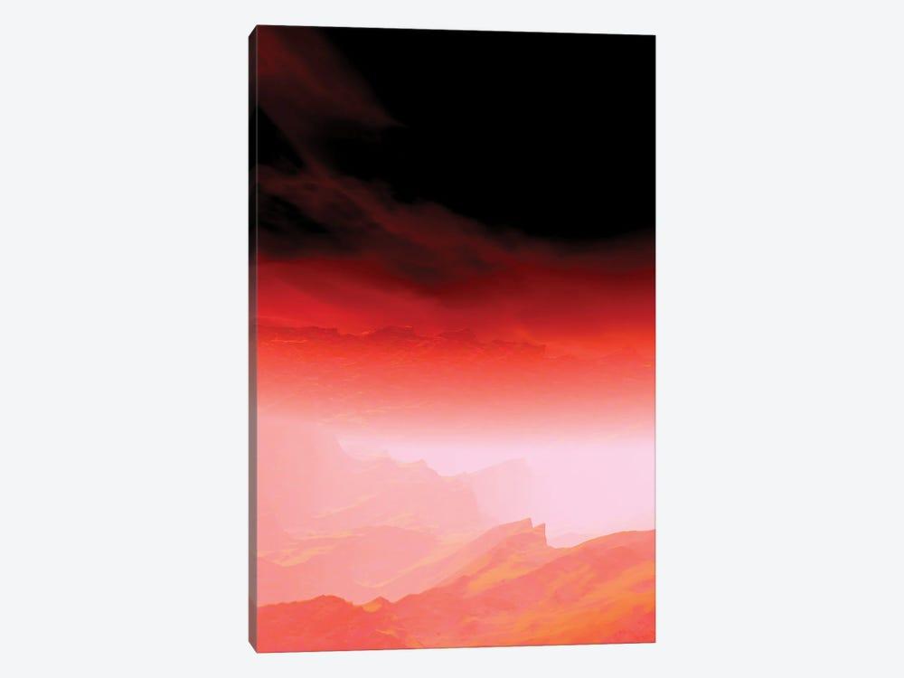 Red Sky III by Angel Estevez 1-piece Canvas Art Print