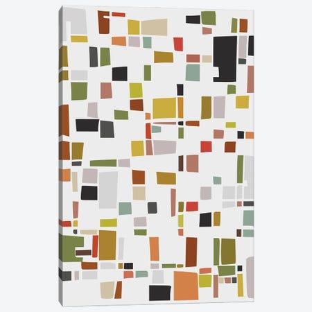 Color and Shapes Game Canvas Print #AEZ258} by Angel Estevez Canvas Artwork
