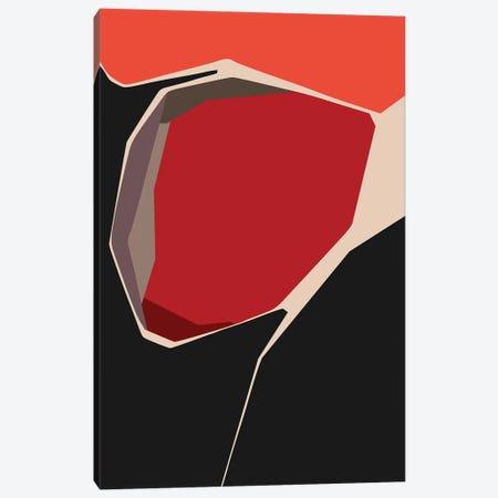 Cornered Red Canvas Print #AEZ259} by Angel Estevez Canvas Art
