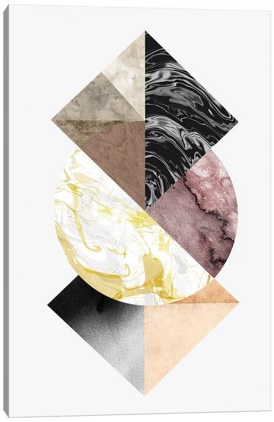 Mixing Elements Canvas Art Print