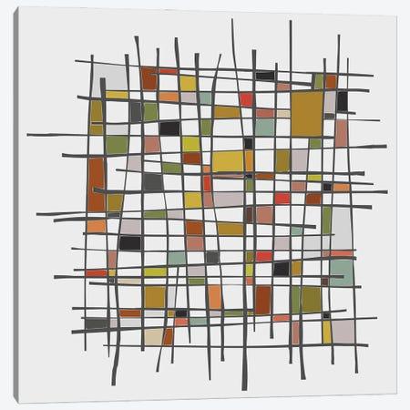 Mondrian Wink Canvas Print #AEZ275} by Angel Estevez Art Print