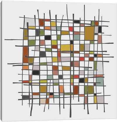 Mondrian Wink Canvas Art Print