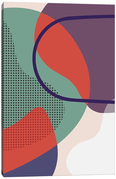 Overlapping Parts II Canvas Art Print